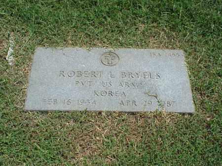 BRYELS (VETERAN KOR), ROBERT L - Pulaski County, Arkansas | ROBERT L BRYELS (VETERAN KOR) - Arkansas Gravestone Photos