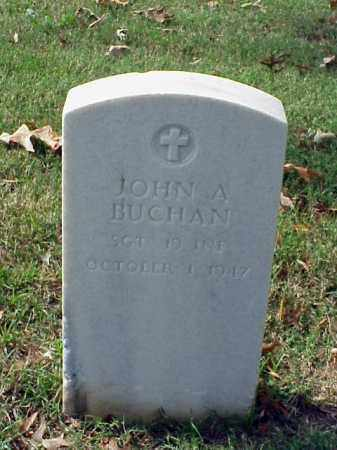 BUCHAN (VETERAN SAW), JOHN A - Pulaski County, Arkansas | JOHN A BUCHAN (VETERAN SAW) - Arkansas Gravestone Photos