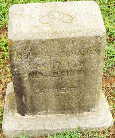 BUCHANAN, JOHN A. - Pulaski County, Arkansas | JOHN A. BUCHANAN - Arkansas Gravestone Photos