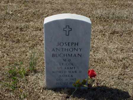 BUCHMAN, MD (VETERAN 2 WARS), JOSEPH ANTHONY - Pulaski County, Arkansas | JOSEPH ANTHONY BUCHMAN, MD (VETERAN 2 WARS) - Arkansas Gravestone Photos