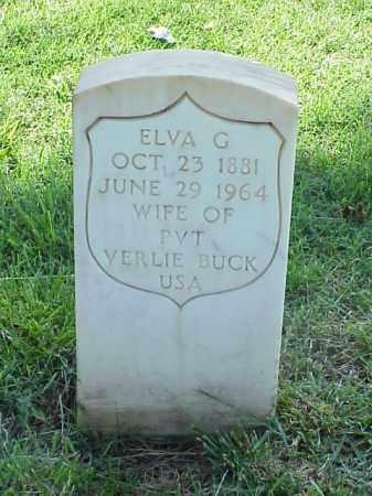 BUCK, ELVA G - Pulaski County, Arkansas | ELVA G BUCK - Arkansas Gravestone Photos
