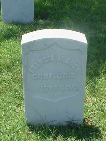 BUCK (VETERAN UNION), FRANCIS M - Pulaski County, Arkansas | FRANCIS M BUCK (VETERAN UNION) - Arkansas Gravestone Photos