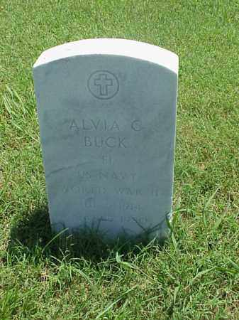 BUCK (VETERAN WWII), ALVIA C - Pulaski County, Arkansas | ALVIA C BUCK (VETERAN WWII) - Arkansas Gravestone Photos