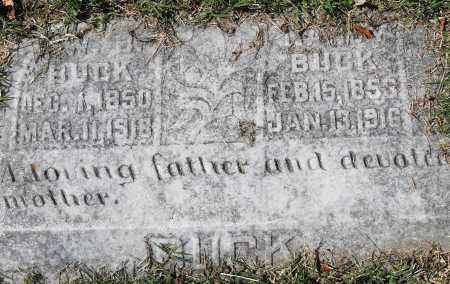 BUCK, W B - Pulaski County, Arkansas | W B BUCK - Arkansas Gravestone Photos