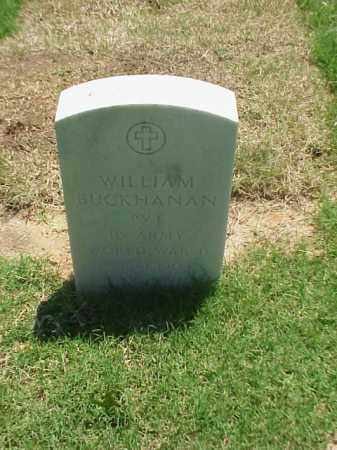 BUCKHANAN (VETERAN WWII), WILLIAM - Pulaski County, Arkansas | WILLIAM BUCKHANAN (VETERAN WWII) - Arkansas Gravestone Photos