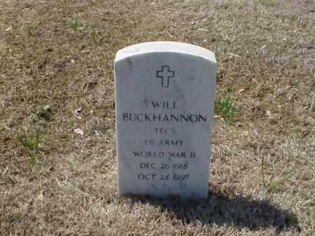 BUCKHANNON (VETERAN WWII), WILL - Pulaski County, Arkansas | WILL BUCKHANNON (VETERAN WWII) - Arkansas Gravestone Photos