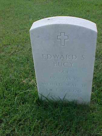 BUCY (VETERAN WWII), EDWARD S - Pulaski County, Arkansas | EDWARD S BUCY (VETERAN WWII) - Arkansas Gravestone Photos
