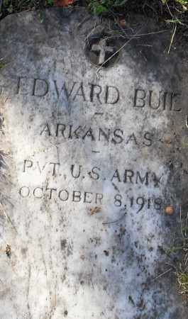 BUIE (VETERAN), EDWARD - Pulaski County, Arkansas | EDWARD BUIE (VETERAN) - Arkansas Gravestone Photos