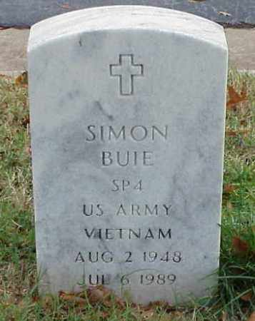 BUIE (VETERAN VIET), SIMON - Pulaski County, Arkansas | SIMON BUIE (VETERAN VIET) - Arkansas Gravestone Photos
