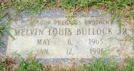 BULLOCK,  JR., MELVIN LOUIS - Pulaski County, Arkansas | MELVIN LOUIS BULLOCK,  JR. - Arkansas Gravestone Photos