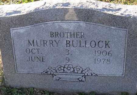 BULLOCK, MURRY - Pulaski County, Arkansas | MURRY BULLOCK - Arkansas Gravestone Photos