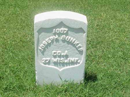 BUNKER (VETERAN UNION), JOSEPH - Pulaski County, Arkansas | JOSEPH BUNKER (VETERAN UNION) - Arkansas Gravestone Photos