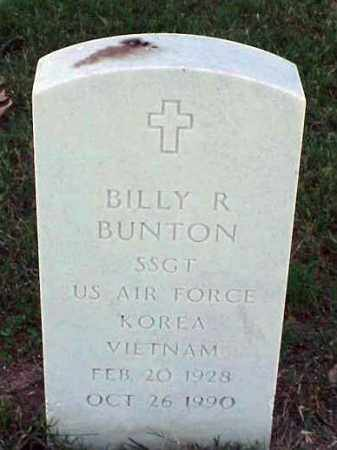 BUNTON (VETERAN 2 WARS), BILLY R - Pulaski County, Arkansas | BILLY R BUNTON (VETERAN 2 WARS) - Arkansas Gravestone Photos