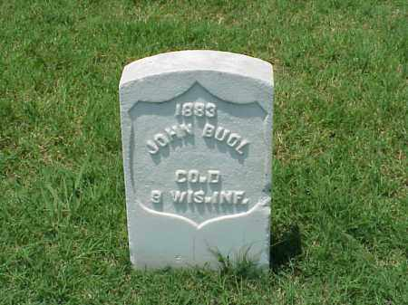 BUOL (VETERAN UNION), JOHN - Pulaski County, Arkansas | JOHN BUOL (VETERAN UNION) - Arkansas Gravestone Photos