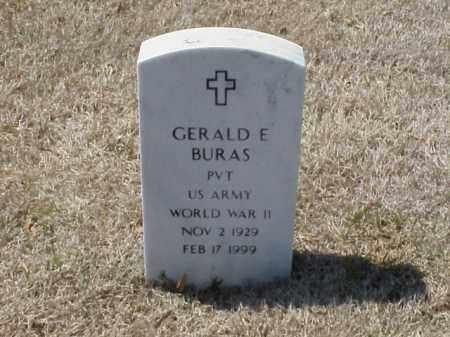 BURAS (VETERAN WWII), GERALD E - Pulaski County, Arkansas | GERALD E BURAS (VETERAN WWII) - Arkansas Gravestone Photos