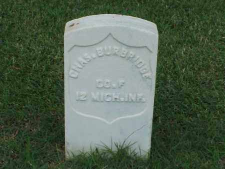 BURBRIDGE (VETERAN UNION), CHARLES - Pulaski County, Arkansas   CHARLES BURBRIDGE (VETERAN UNION) - Arkansas Gravestone Photos