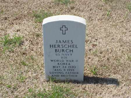 BURCH (VETERAN 2 WARS), JAMES HERSCHEL - Pulaski County, Arkansas | JAMES HERSCHEL BURCH (VETERAN 2 WARS) - Arkansas Gravestone Photos