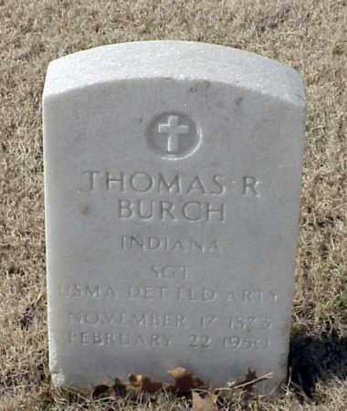 BURCH (VETERAN), THOMAS R - Pulaski County, Arkansas | THOMAS R BURCH (VETERAN) - Arkansas Gravestone Photos