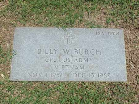 BURCH (VETERAN VIET), BILLY W - Pulaski County, Arkansas | BILLY W BURCH (VETERAN VIET) - Arkansas Gravestone Photos