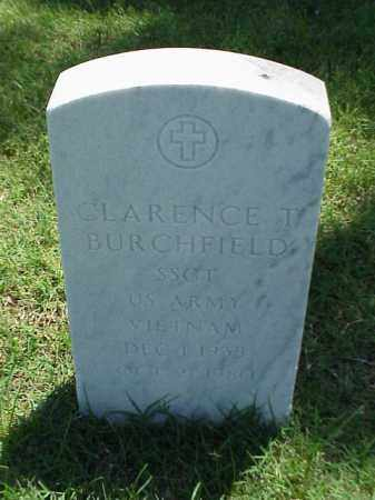 BURCHFIELD (VETERAN VIET), CLARENCE T - Pulaski County, Arkansas | CLARENCE T BURCHFIELD (VETERAN VIET) - Arkansas Gravestone Photos