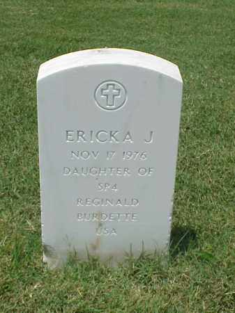 BURDETTE, ERICKA J. - Pulaski County, Arkansas | ERICKA J. BURDETTE - Arkansas Gravestone Photos