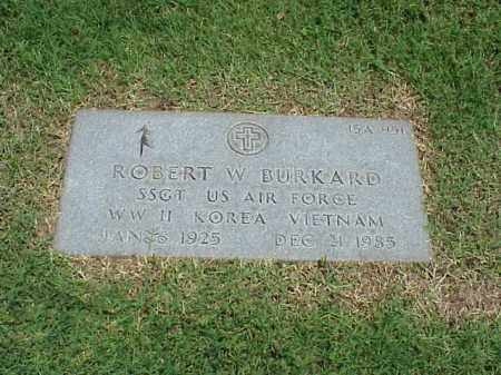 BURKARD (VETERAN 3 WARS), ROBERT W - Pulaski County, Arkansas | ROBERT W BURKARD (VETERAN 3 WARS) - Arkansas Gravestone Photos