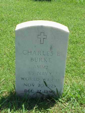 BURKE (VETERAN WWII), CHARLES E - Pulaski County, Arkansas | CHARLES E BURKE (VETERAN WWII) - Arkansas Gravestone Photos