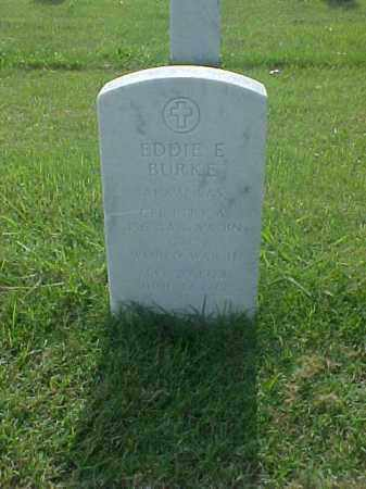 BURKE (VETERAN WWII), EDDIE E - Pulaski County, Arkansas | EDDIE E BURKE (VETERAN WWII) - Arkansas Gravestone Photos
