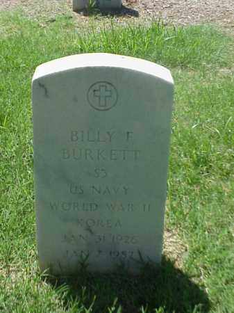 BURKETT (VETERAN 2 WARS), BILLY F - Pulaski County, Arkansas | BILLY F BURKETT (VETERAN 2 WARS) - Arkansas Gravestone Photos