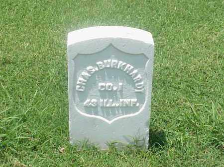 BURKHARDT (VETERAN UNION), CHARLES - Pulaski County, Arkansas | CHARLES BURKHARDT (VETERAN UNION) - Arkansas Gravestone Photos