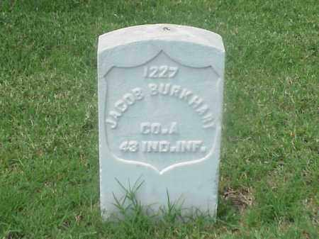BURKHART (VETERAN UNION), JACOB - Pulaski County, Arkansas | JACOB BURKHART (VETERAN UNION) - Arkansas Gravestone Photos