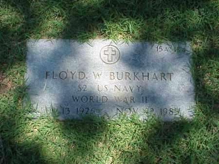 BURKHART (VETERAN WWII), FLOYD W - Pulaski County, Arkansas | FLOYD W BURKHART (VETERAN WWII) - Arkansas Gravestone Photos