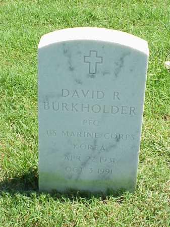 BURKHOLDER (VETERAN KOR), DAVID R - Pulaski County, Arkansas | DAVID R BURKHOLDER (VETERAN KOR) - Arkansas Gravestone Photos