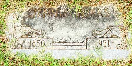 BURKS, JENNIE - Pulaski County, Arkansas | JENNIE BURKS - Arkansas Gravestone Photos