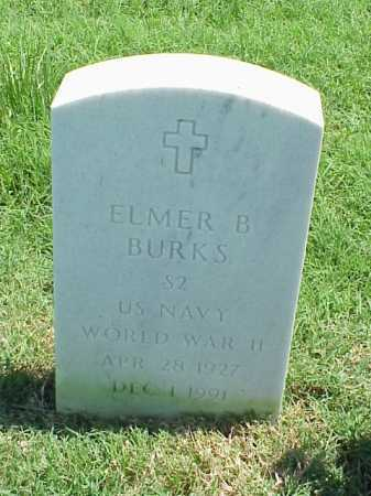 BURKS (VETERAN WWII), ELMER B - Pulaski County, Arkansas | ELMER B BURKS (VETERAN WWII) - Arkansas Gravestone Photos
