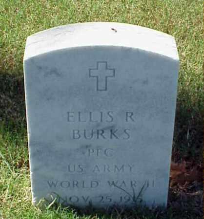 BURKS (VETERAN WWII), ELLIS R - Pulaski County, Arkansas | ELLIS R BURKS (VETERAN WWII) - Arkansas Gravestone Photos
