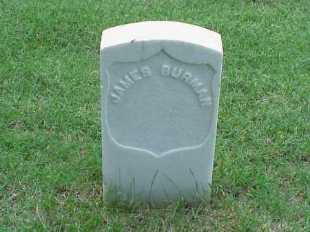 BURMAN (VETERAN UNION), JAMES - Pulaski County, Arkansas | JAMES BURMAN (VETERAN UNION) - Arkansas Gravestone Photos
