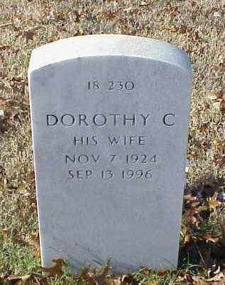 BURNETT, DOROTHY C - Pulaski County, Arkansas | DOROTHY C BURNETT - Arkansas Gravestone Photos