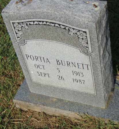 BURNETT, PORTIA - Pulaski County, Arkansas | PORTIA BURNETT - Arkansas Gravestone Photos