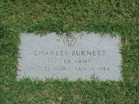 BURNETT (VETERAN), CHARLES - Pulaski County, Arkansas | CHARLES BURNETT (VETERAN) - Arkansas Gravestone Photos