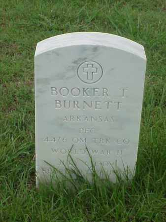 BURNETT (VETERAN WWII), BOOKER T - Pulaski County, Arkansas | BOOKER T BURNETT (VETERAN WWII) - Arkansas Gravestone Photos