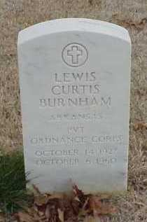 BURNHAM (VETERAN), LEWIS CURTIS - Pulaski County, Arkansas | LEWIS CURTIS BURNHAM (VETERAN) - Arkansas Gravestone Photos