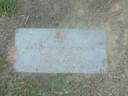 BURNHAM (VETERAN WWII), ARTHUR F - Pulaski County, Arkansas | ARTHUR F BURNHAM (VETERAN WWII) - Arkansas Gravestone Photos
