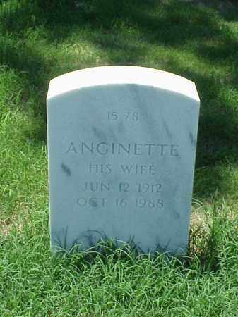 BURNLEY, ANGINETTE - Pulaski County, Arkansas | ANGINETTE BURNLEY - Arkansas Gravestone Photos