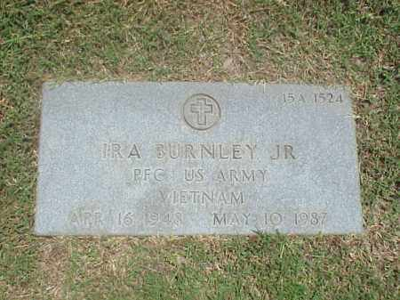 BURNLEY, JR (VETERAN VIET), IRA - Pulaski County, Arkansas | IRA BURNLEY, JR (VETERAN VIET) - Arkansas Gravestone Photos
