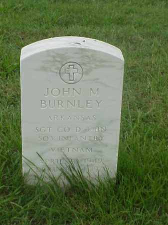 BURNLEY (VETERAN VIET), JOHN M - Pulaski County, Arkansas | JOHN M BURNLEY (VETERAN VIET) - Arkansas Gravestone Photos