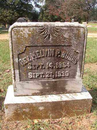 BURNS, REV, MELVIN P - Pulaski County, Arkansas | MELVIN P BURNS, REV - Arkansas Gravestone Photos