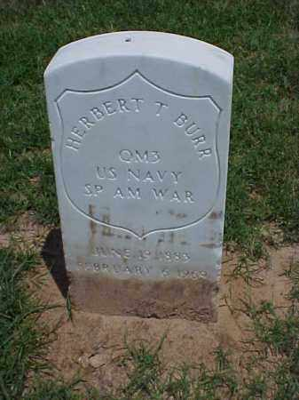 BURR (VETERAN SAW), HERBERT THADDIEUS - Pulaski County, Arkansas | HERBERT THADDIEUS BURR (VETERAN SAW) - Arkansas Gravestone Photos