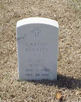 BURRELL (VETERAN KOR), CARTHY - Pulaski County, Arkansas | CARTHY BURRELL (VETERAN KOR) - Arkansas Gravestone Photos