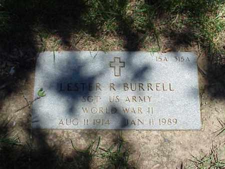 BURRELL (VETERAN WWII), LESTER R - Pulaski County, Arkansas | LESTER R BURRELL (VETERAN WWII) - Arkansas Gravestone Photos